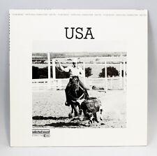 "Vinyl LP ""USA"" Selected Sound 1983 Folk World Library Ethnologic 9980486"