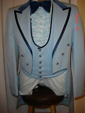 Vintage 1970's After Six Blue Tuxedo Tails-many sizes to choose from
