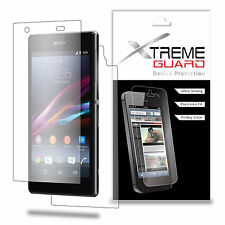 XtremeGuard Clear LCD FULL BODY Screen Protector Skin For NEW Sony Xperia Z1S