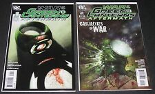 War of the Green Lanterns: Aftermath 1 & 2 complete set (2011, DC) 1st Print