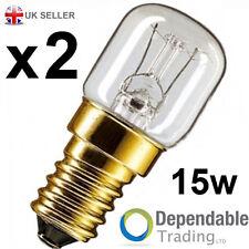 2 x 15w Eveready Lampes De Four/Cuisinière Ampoule 230v SES E14 300° Degrés
