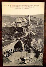 Chalet El Pinar Funicular Tibidabo Arquitecto E.Sagnier BARCELONA SPAIN Postcard