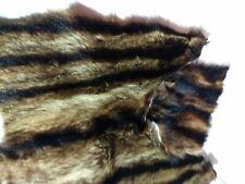 Vintage Raccoon Fur Pieces, Fur Coat , Great Color  Craft Projects