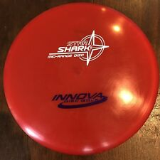 Rare Oop Red Champy Star Shark 176 g Innova Disc Golf Oop New