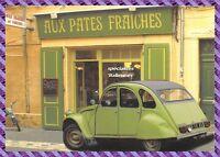 CPM  Aix-en-Provence Rue Laurent Fauchier Magasin AUX PATES FRAICHES,  2 CV