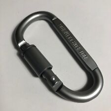 1pcs Aluminum Carabiner D-Ring Keychain Clip Hook Outdoor Buckle