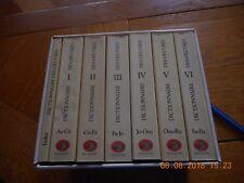coffret dictionnaire des oeuvres R.LAFFONT  BOUQUINS  1986