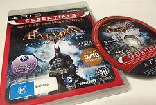 Batman Arkham Asylum Game of The Year GOTY Edition PS3 Playstation 3