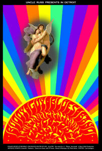 BUDDY GUY BLUES BAND GRANDE BALLROOM by Original Artist CARL LUNDGREN 1968