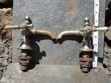 Faucets Brass Chromed Ornate Hot & Cold for sink or tub  Antique, VINTAGE