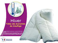 COUETTE HIVER 500g/m² LA CHALEUR EST CONSERVEE = ECONOMIE DE CHAUFFAGE ! 220X240