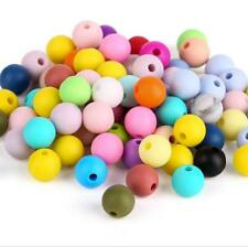 10X Food grade Silicone loose Beads Baby Teether Pacifier chain  Accessories