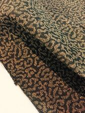 """1 5/8 YDS Woven Ribbed Jacquard Brocade Fabric 56"""" Wide Modern Textured"""