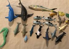 Lot Of Ocean Sea World Dolphins And Whales Sharks (sharks Est 5�)