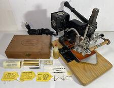 Kingsley M 101 Hot Foil Stamping Embossing Machine Letter Press Excellent
