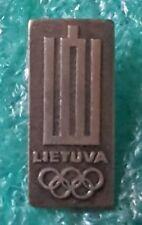 LITUVIAN OLYPICS COMMITTEE  OLD PIN BADGE