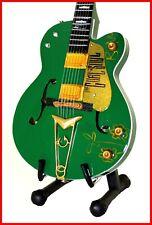 U2 - GUITARE MINIATURE ! BONO Irish Green Falcon Gretsch Collection Pop Rock UK
