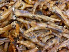 Natural Dog Treats Chicken Feet Crunchy Chew x 20