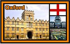 OXFORD, OXFORDSHIRE UK - SOUVENIR NOUVEAUTÉ AIMANT DE RÉFRIGÉRATEUR - - CADEAU