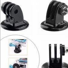 Tripod Monopod Mount Adapter For GoPro HD HERO 1 2 3 4 Camera Accessories Black