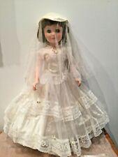 "Pristine M.A.O. 24"" Toni Sweet Sue Sophisticate elusive Bride W/extra dresses"