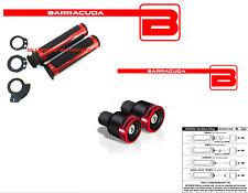 MANOPOLE ROSSE + CONTRAPPESI B-LUX ROSSI + ADATTATORI per YAMAHA T-MAX 530