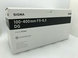 New SIGMA 100-400mm f/5-6.3 DG OS HSM Contemporary Lens for NIKON F