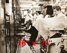"James Dean~Hair Salon~Rockabilly~Barber~Photo~Stylist~Poster~16"" x 20"""