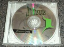 Dimensions Vol 1 Promo Only Electronic Dance Techno CD