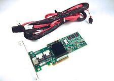 LSI MegaRAID 8 Port 3GBs SAS/SATA Raid Controller w/ Cables MR SAS 8708EM2
