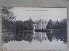 cpa 87 haute vienne NIEUL Le château et l'étang...Excellent état COLLECTION
