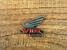 "HONDA VTX MOTORCYCLE VEST PIN ~1"" x 7/8"" LAPEL HAT BADGE BROCHE JACKET TIE BIKE"