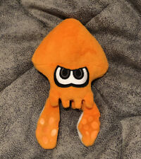 Authentic Nintendo Plush Orange Inkling Squid Splatoon