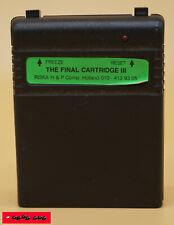 THE FINAL CARTRIDGE III - Modul-Erweiterung mit vielen zusätzlichen Funktionen