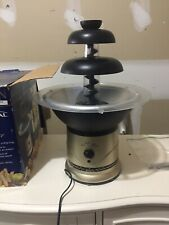 Rival CFF5 Chocolate Fondue Fountain Great Condition Great for Parties & Games