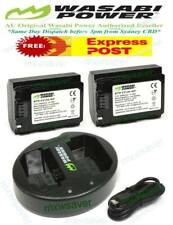 Wasabi Power 2000mah Battery (2-pack) and Dual USB Charger for Sony Np-fz100