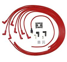Spark Plug Wire Set-Universal Fit Accel 5041R 90 DEGREE PLUG BOOTS V8