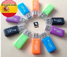 Adaptador tarjeta micro SD a USB  lector de tarjetas microSD a USB