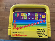 A1 Vintage 1985 Texas Instruments Little Maestro Musical Learning Toy