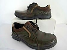 hotter callaghan men's brown leather/suede/nubuck lace up shoes uk size 6