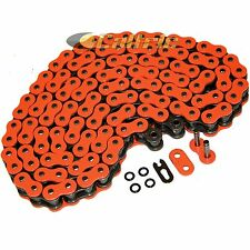 520 x 120 Links Motorcycle ATV ORANGE O-Ring Drive Chain 520-Pitch 120-Links