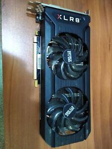 PNY Nvidia GeForce GTX 1060 6GB GPU VRAM Graphics Card PC Gaming Used