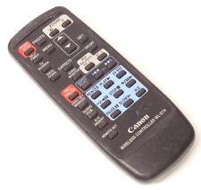 Genuine Canon WL-D74 Remote Control for D830522000 ZR10 ZR20 WL-D74A