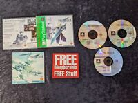 Final Fantasy VII 7 PlayStation 1 PS1 Greatest Hits Complete CIB Game 3 Discs
