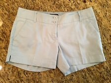 The Limited Stretch Low Rise Light Blue Casual Chino Shorts ~ Women's Size 0