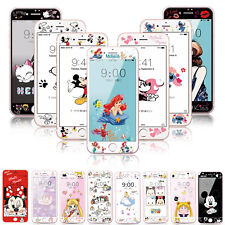 9H Cartoon Mickey Front Tempered Glass Film Screen Protector For iPhone 7 Plus 6