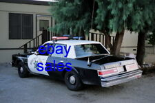 1986 Dodge Diplomat CHP California Highway Patrol 8x12 Photo POLICE