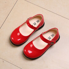 Children School Single Shoes Girls Dress Party Shoes Kids Wedding Causal Shoes