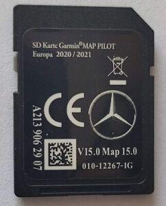 2020/2021 Mercedes-Benz Navigation SD Card Garmin Map Pilot Europe A2139062907
