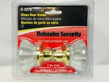 Defender Bright Brass Steel Replacement Interior Door Knob New In Package